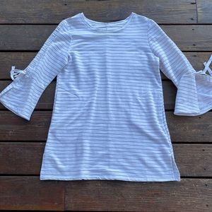 Neon Buddha white soft tunic